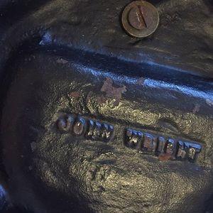 Vintage Accents - John Wright cast iron ashtray